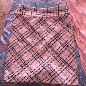 WHBM skirt winter time